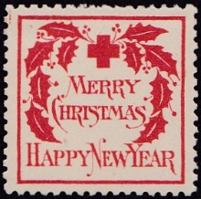 1907 US Christmas Seal, type 2 EF