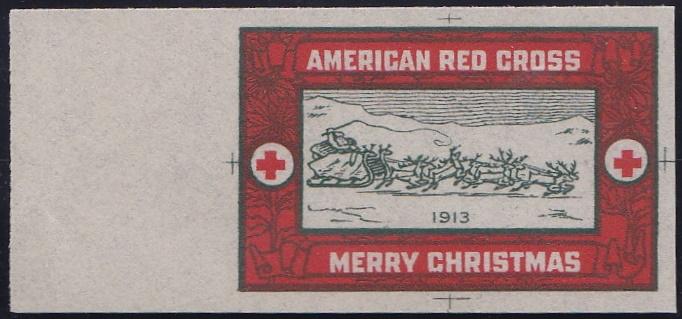 1913 Christmas Seal Essay, Green's #13-e1