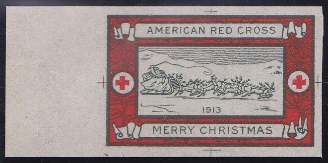 1913 Christmas Seal Essay, Green's #13e1a