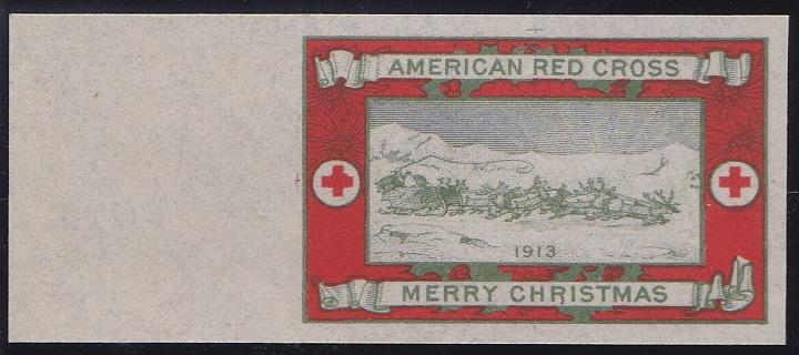 1913 Christmas Seal Essay, Green's # 13e4