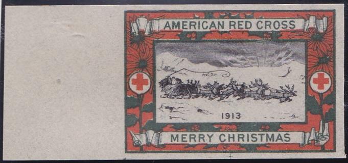 1913 Christmas Seal Essay, Green's # 13e7