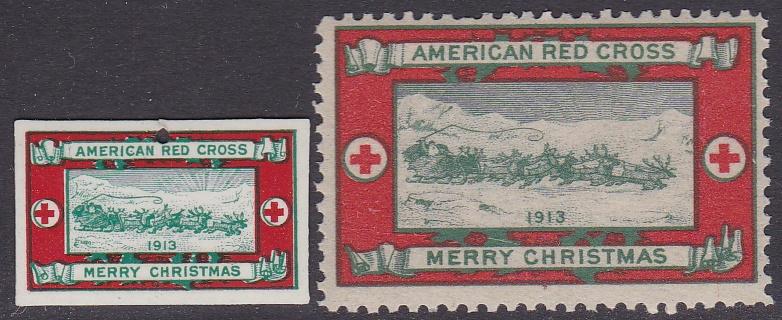 1913 Christmas Seal Pin
