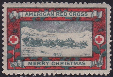 1913 type 1 US Christmas Seal WX11