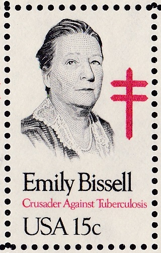 Emily Bissell, designer and developer of 1st US Christmas Seal