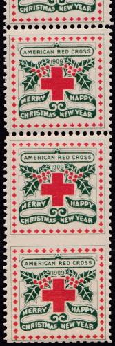 1909 Christmas Seal error VPIB