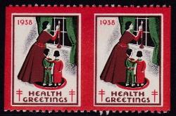 1938 Christmas Seal error, HPIV