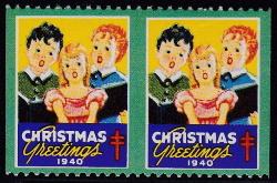 1940 Christmas Seal error, HPIV
