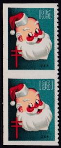 1951 Christmas seal error, VPIH