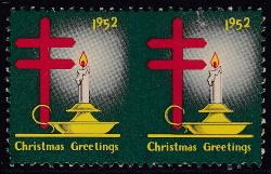 1952 Christmas seal error, HPIB