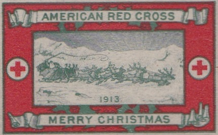 1913 type 2a US Christmas Seal