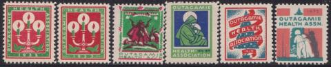 Outagamie Health Association, (Appleton, WI) TB Seal Collection