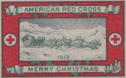 1913 type 2a US Christmas Seal