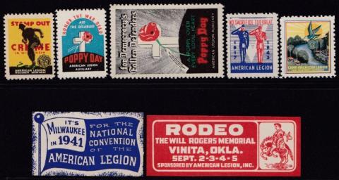 Patriotic and Veteran, American Legion Set #5