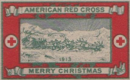 1913 type 2b US Christmas Seal