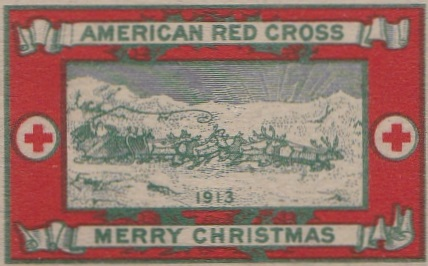 1913 type 2b US Christmas Seal