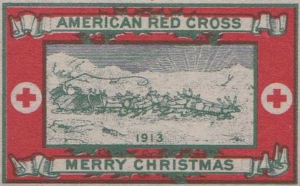 1913 type 3 US Christmas Seal