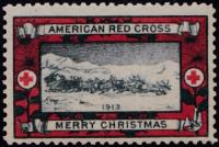 WX11 1913 Type 1 US Christmas Seal