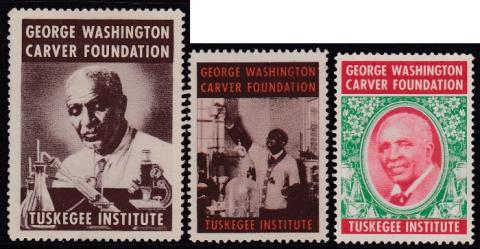 Miscellaneous Section, Tuskegee Institute, George Washington Carver Seal Set