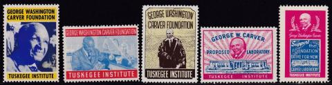 Miscellaneous Section, Tuskegee Institute, George Washington Carver Seal Set #2