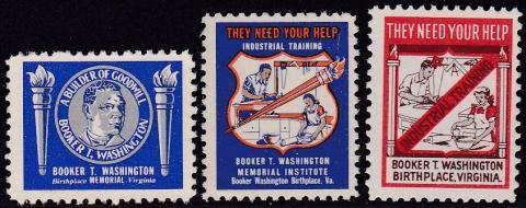 Miscellaneous Section, Booker T Washington Seal Set