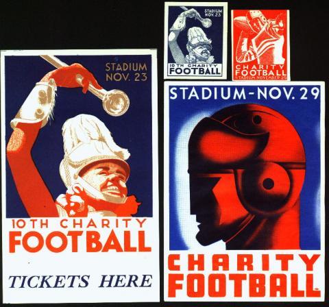 Sports, Cleveland Charity Football Set