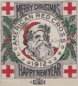 1912 US Lookalike Christmas Seal, Chicago Local TB