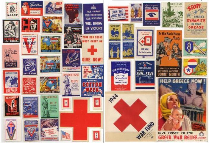 Patriotic, 64 Diff WW2 Patriotics