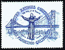People and Politicians, UN, St. Francis and Golden Gate Bridge, Sheet of 25