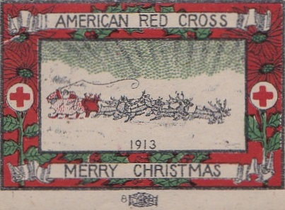 1913 US Christmas Seal Lookalike, Chicago local TB