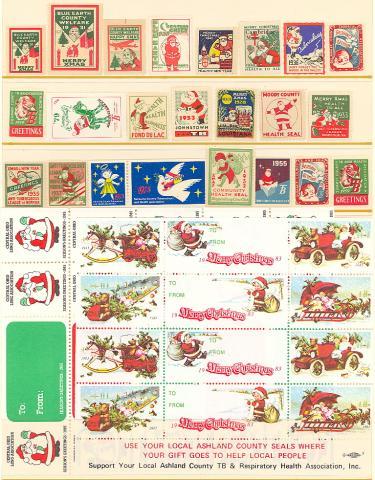 Topical, Santa Set of 24