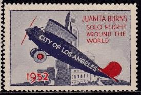 Transportation, 1932 Juanita Burns Aviation Event Seal