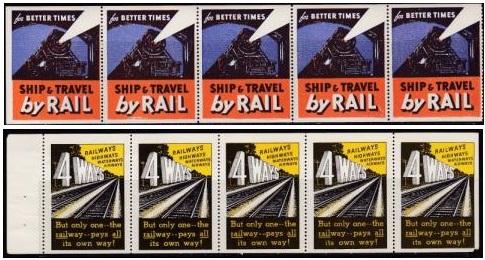 Transportation, 2 Train Panes