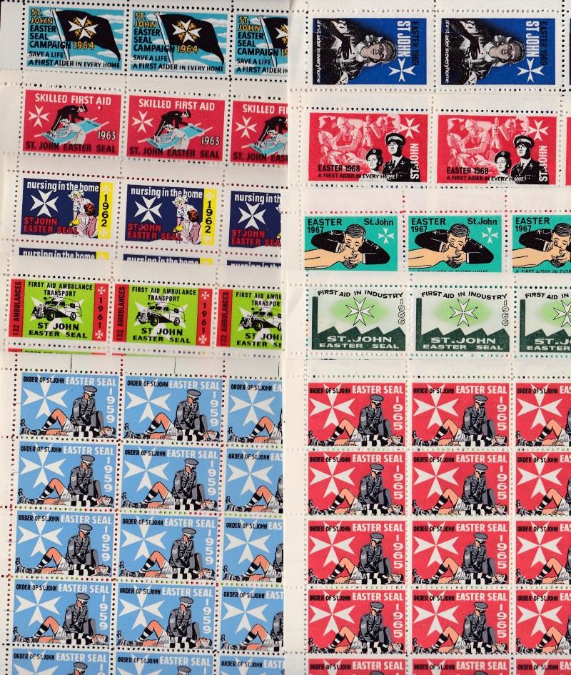 New Zealand Easter Seal Sheet Set