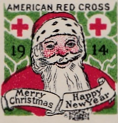 1914 US Christmas Seal Lookalike, Chicago local TB