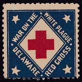 US Local TB #431 Delaware 1908, Designed by Emily Bissell