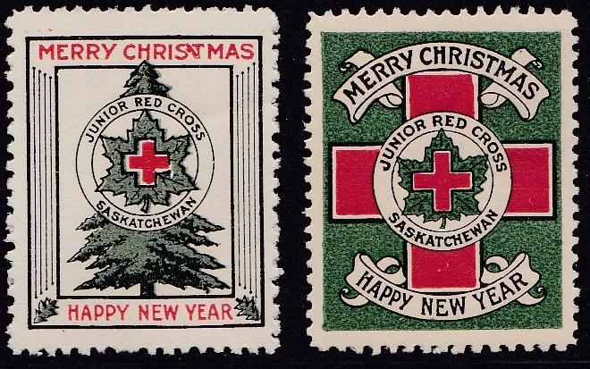 Canada Junior Red Cross #252, 253 1922-23