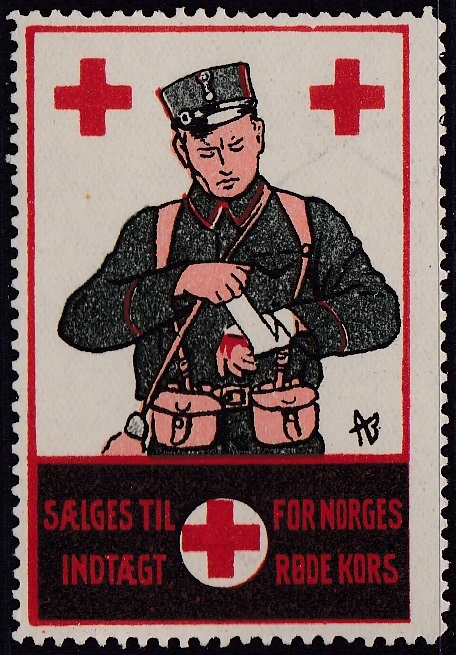 Norway Red Cross #2 1914 Soldier