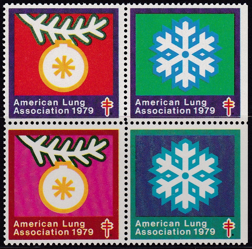 1979 Christmas Seal Snowflake Design Experiment