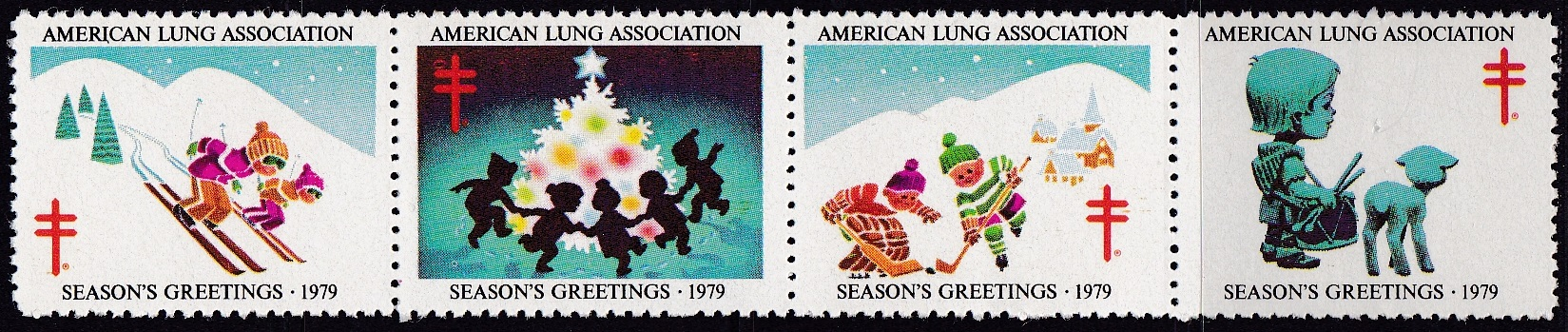 1979 Christmas Seal Design Experiment, Canadian Lookalike