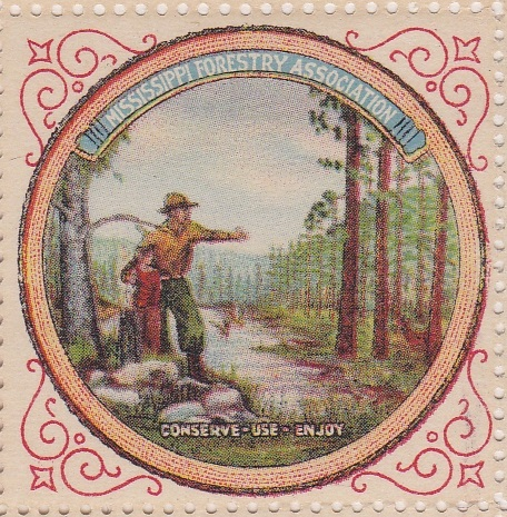 Rare sheet of 100 Mississippi Forestry
