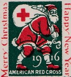 1916 US Christmas Seal