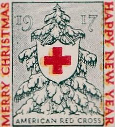 1917 US Christmas Seal