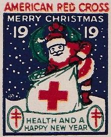 1919 type 1 US Christmas Seal