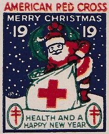 1919 type 1 US Christmas Seal