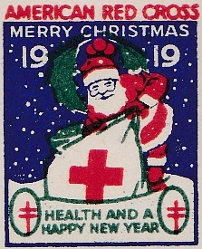 1919 type 2 US Christmas Seal