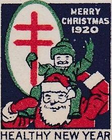1920 type 2 US Christmas Seal