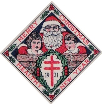 1921 type 2 US Christmas Seal