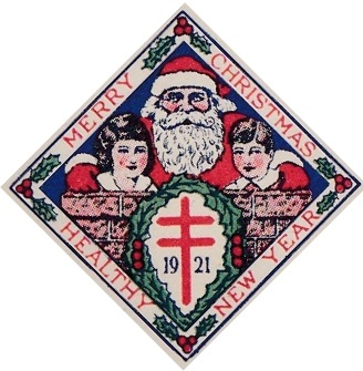 1921 type 3 US Christmas Seal