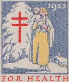 1922 US Christmas Seal
