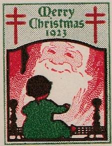 1923 US Christmas Seal